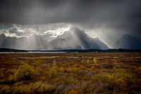 Clearing Storm from Elk Flats #1, Grand Teton National Park, Wyoming