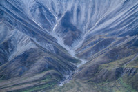 Volcanic slopes of Eielson Mountain, Denali National Park