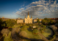St. Louis Cathedral and Jackson Square, New Orleans, LA