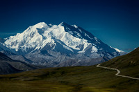 "The road to Denali Mountain, ""The Great One"""