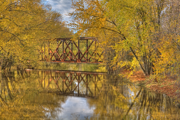 Railroad Trestle Bridge, Leister