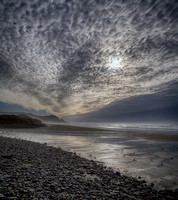 Mackerel Sky over Washburne Beach