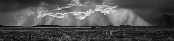 Storm over the Teton Range #1