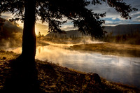 Morning Mists, Madison River