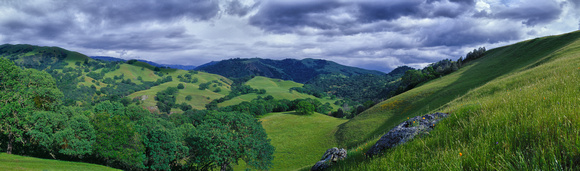 Hills of the Sunole Wilderness, San Jose, California