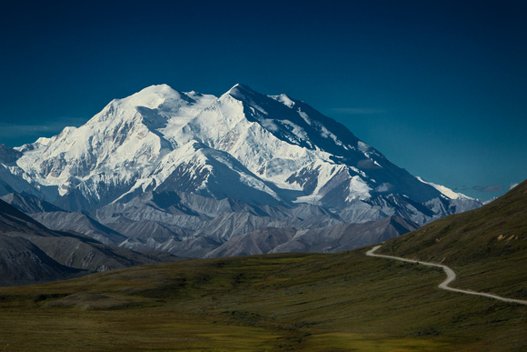 "The road to Denali Mountain, ""The Great One"" Alaska"